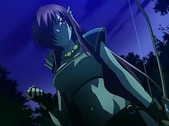 Aoi sekai no chuushin de threatening(fanservice compilation)