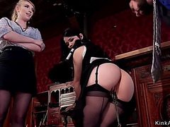 2 marvelous slaves anal drilled