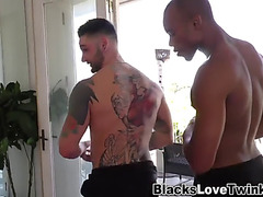 Hunk blowing darksome chap