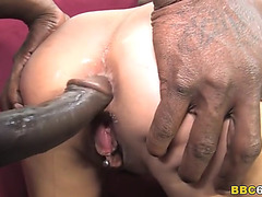 Lou charmelle doublepenetration with large dark rod