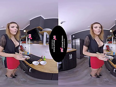 Tsvirtuallovers vr lady-boy goo in the bowl