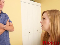Toxic stepsis dolly leigh blackmailed and punished with ramrod