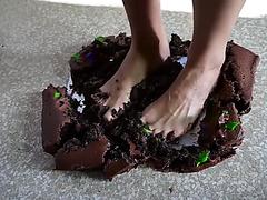High arch cake smash