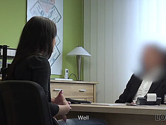Loan4k.fearsome assfucking helps smart whore receive credit for her