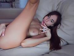 Slender russian camgirl