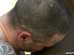Muscle homo anal sex and facial cum