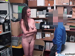 Shoplifter sofie marie likes getting decipline by a large wang