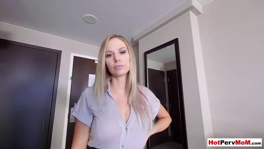 Step Mom Fucks Big Dick Son