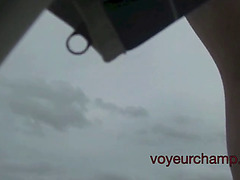 Voyeurchamp.com mrs brooks makes voyeurs cum on undressed beach