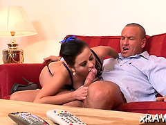 Dudes call in a sexually excited pornstar