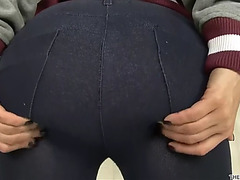 Lisa ann undress tease and slit masturbation