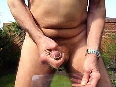 Garden Masturbation