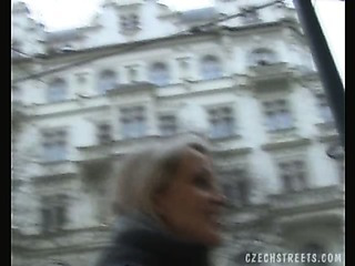 Porno Video of Czech Streets - Petra