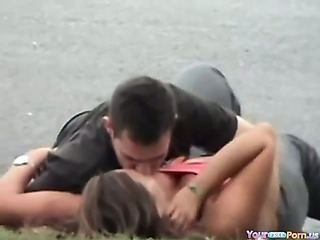 Porno Video of Voyeur Tapes A Couple Having Sex In Public