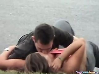 Porn Tube of Voyeur Tapes A Couple Having Sex In Public