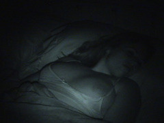 Busty Teen Fingered in Sleep