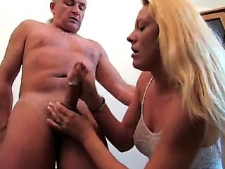 Porno Video of German Cfnm Handjob