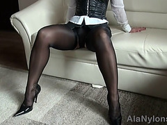 Mother I'd Like To Fuck leather nylon