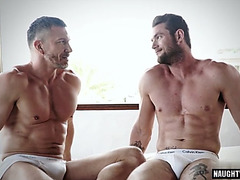 Muscle homosexual anal sex and ejaculation