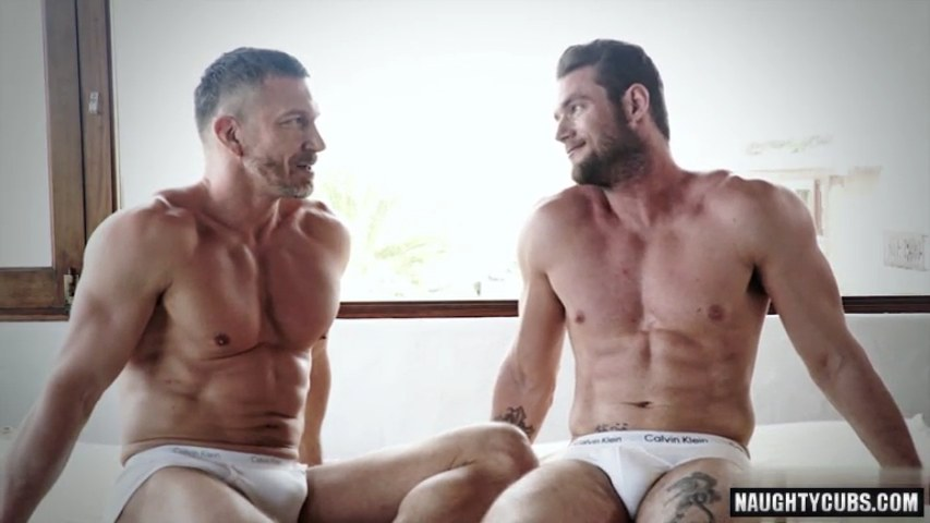Muscle homosexuals anal sex with ejaculation