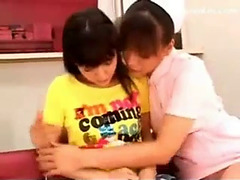 Rei mizuna tempted by lesbo nurse