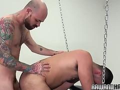Raw bushy sling fuck