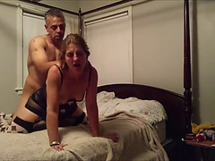 Older pair making a sex tape