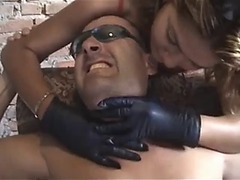 Gloved smother