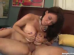 Mommy seduces sons ally