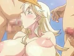 Manga,threatening bang