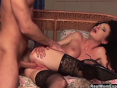 Unfathomable muff fun for sexy mother i'd like to fuck