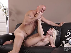 Daddy4k.fearsome glamorous honey wanted to smack old penis inside her cookie