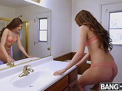 Elena koshka her hot body recorded by bro