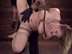 Fresh cutie in servitude and living her dream