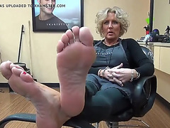 My hairdresser allies older hawt soles