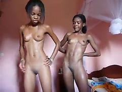 2 fit swarthy gals