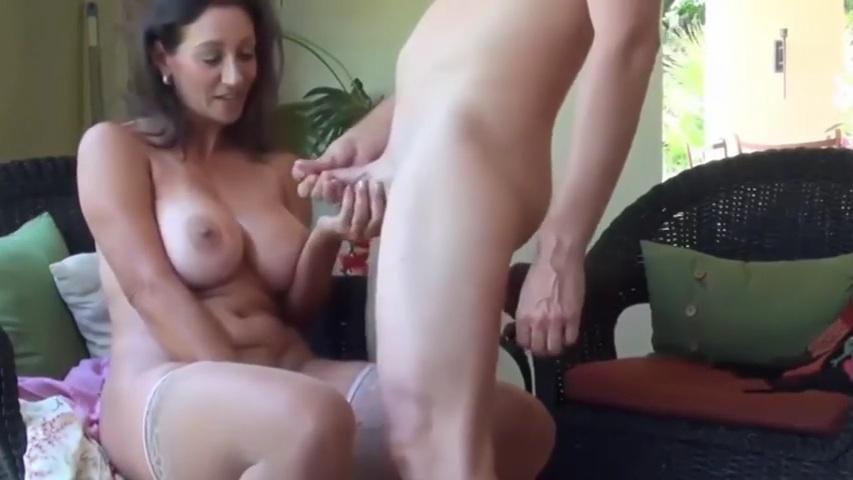 Beautiful Step Mom Fucks Son