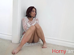 Sexy mother i'd like to fuck ryder copulates son on her wedding day