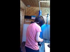 Good hidden shower webcam