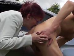 Granny oral-job