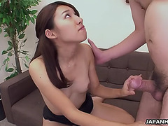 Juvenile japanese sweetie doggy style by old stud uncensored