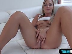 Breasty stepmom shows ger stepson how a real fuck is done