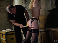 Candee licious servitude thrall in a shaggy fetish extraordinary fuck