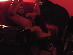 My perverted mastix wife ass drilling and pegging cd sissy backdoor