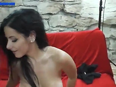 Lap dancing breasty czech