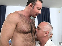 Large 10-Pounder homosexual anal sex and spunk fountain