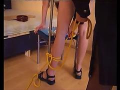 Sister caned