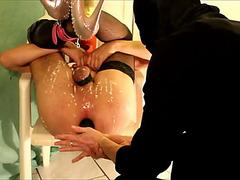Pair enjoying anal