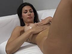 Adela stripping!