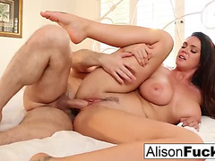 Alison tyler acquires hr wet crack stuffed with russian shlong